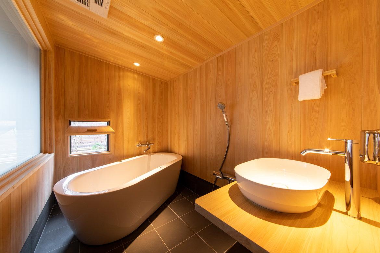 檜風呂の癒し効果